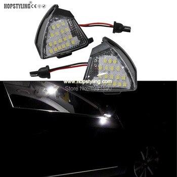 Miễn phí Lỗi led ánh sáng đối với xe side gương puddle nhẹ tự động phụ kiện Cho VW Golf 5 EOS 2006 ~ Golf Variant 5/6 Jetta Passat