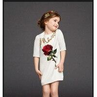 Girls Birthday Party Dress Spring Flower Girls Dresses For Wedding Fashion Christmas Dress Children Clothing Girl