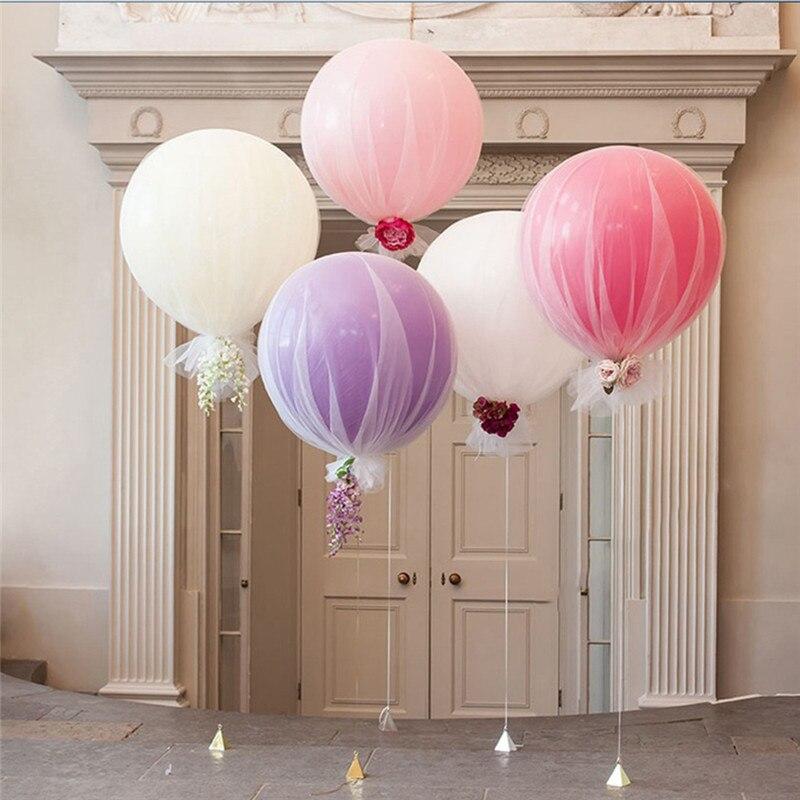 36 Inch Huge Latex Ballons Tissue Garland Wedding Decoration Super Big Balloon For Party Birthday Carnival Event wedding balloon