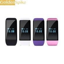 Goldenspike D21 smat пульсометр умный Браслет Водонепроницаемый фитнес-трекер часы smartband для IOS Android