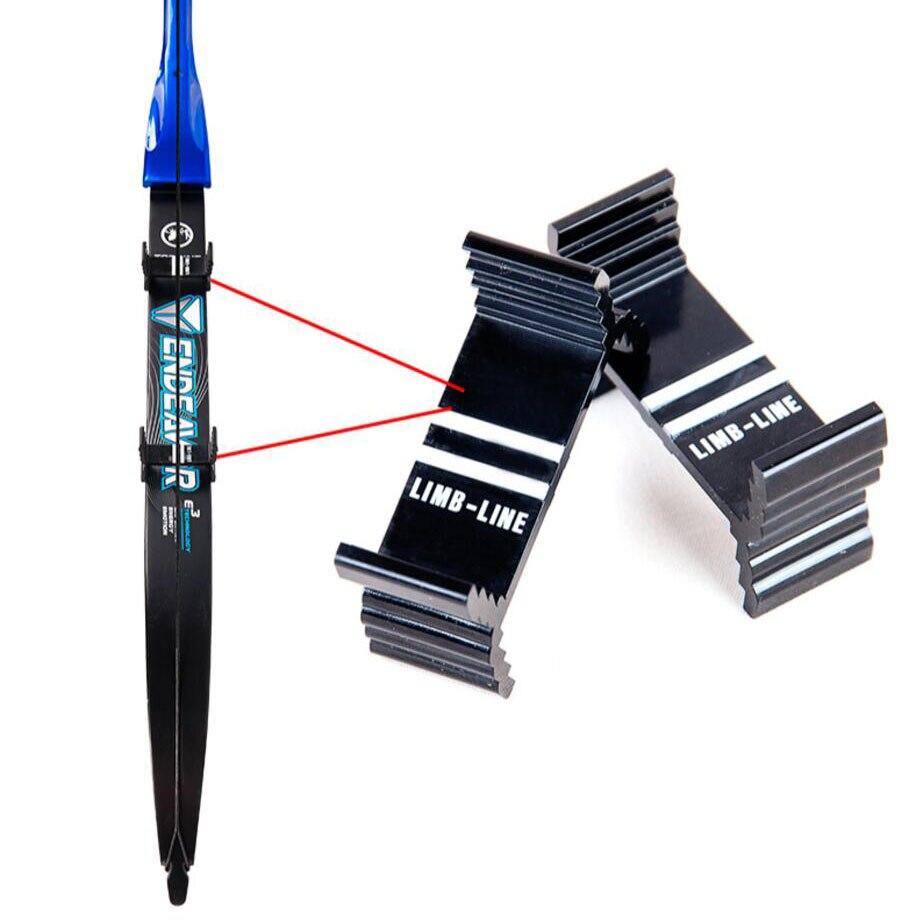 4Pcs Archery Recurve Bow Limb Center Line Gauge Calibration Module Detector Tool