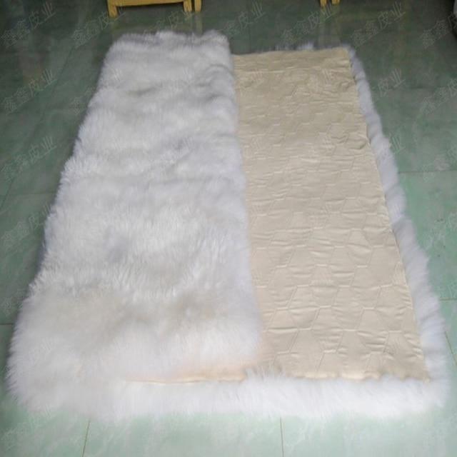 Aliexpress.com : Buy White Sheep Skin Rug Sheepskin ...
