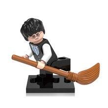 Wholesale 20pcs 371 Harry Potter Friends Hermione Jean Granger Ron Weasley Lord Voldemort Minifigures Building Blocks Toys X0129