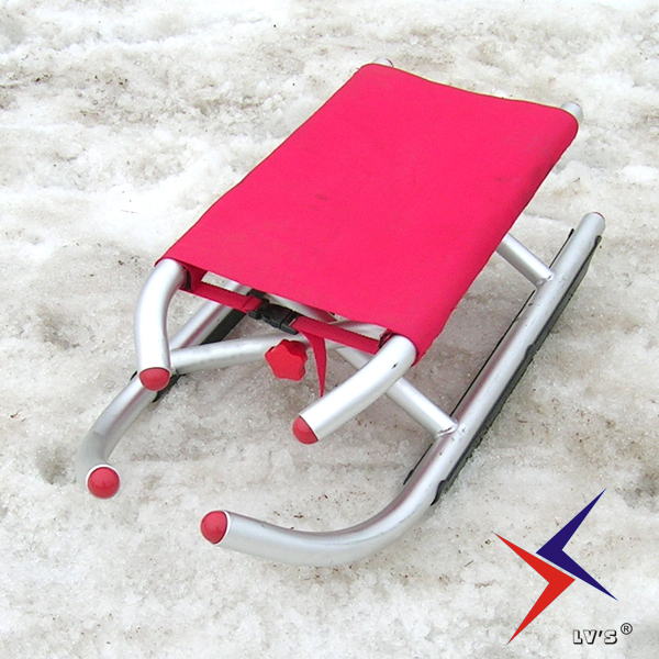 Aluminum Alloy tube folding ski ski sled car for children and adults with sand sliding sledge Sleigh baby Stroller llama llama sand and sun