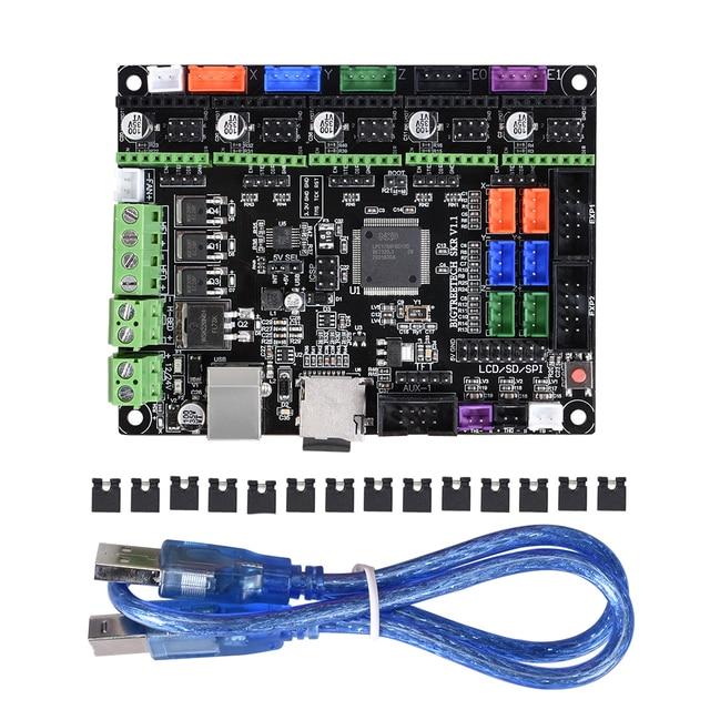 BIGTREETECH SKR V1.1 32 Bit płyta główna Smoothieboard z procesor ARM płyta sterowania Open Source wsparcie TMC2208 dla TFT3.5 panel