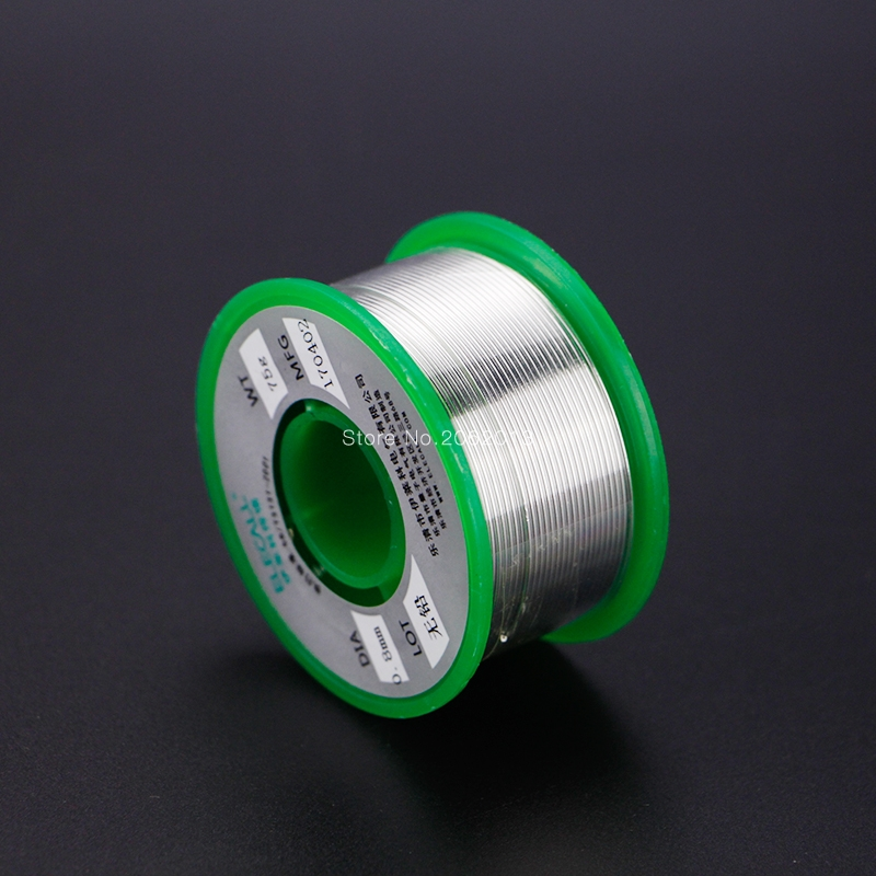 Health Lead Free Rosin Core Tin Welding Wire 75g Solder Iron Accessories For Circuit Board Computer 99.7% Tine