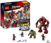 Decool 248pcs Hulkbuster Building Blocks Bricks Toys FIT For Lego Marvel Super Heroes 76031 Avengers Iron