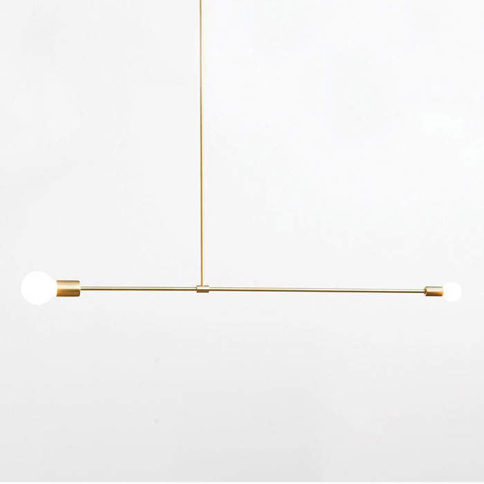 Post-modern Golden / Black Plating Brushed Iron Pipe Pendant Light with E27 LED Frosted Glass Shade for Living Room Post-modern Golden / Black Plating Brushed Iron Pipe Pendant Light with E27 LED Frosted Glass Shade for Living Room