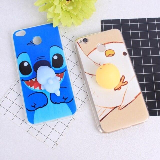 huge discount af44c 001dd US $1.23 20% OFF|Aliexpress.com : Buy Redmi 4X Squishy Phone Case 3D for  Xiaomi Redmi 4X 4 4A 4 Pro Note 4 Cute Soft Silicone Panda Pappy Cat Seal  ...