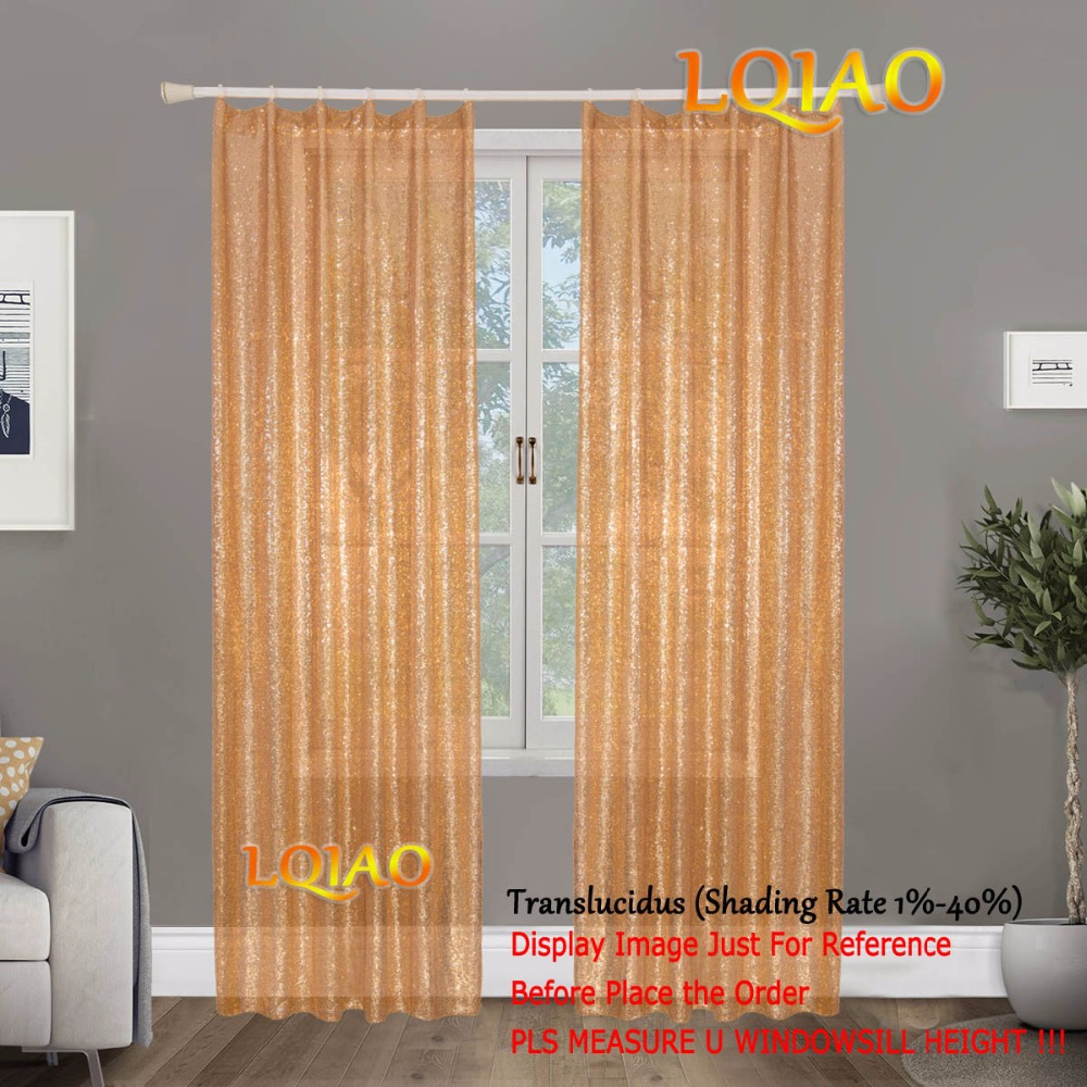 2pc 60x250cm Gold Sequin Curtain Shimmer Sequin Backdrop Photography Sparkly Curtains for Living Room/Christmas Decoration Draps