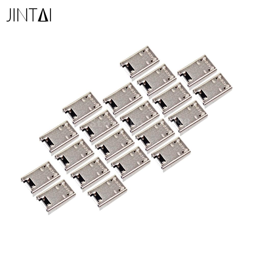 Jintai LOT OF Micro USB Charging Port SOCKET CONNECTOR For ASUS Transformer Book T100T T100TA Tab jintai usb charging port flex cable board connector for lenovo yoga tab 2 10 1 b8080 yoga 10 b8080 f