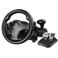Компьютерная игра руль/автомобиль симулятор вождения тренировочный самолет/тест драйв школа/Автомобильная гонка Вибрация 270 градусов