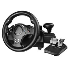 Computer game steering wheel /car driving simulator training aircraft /test drive school/automobile race Vibration 270 degrees(China)
