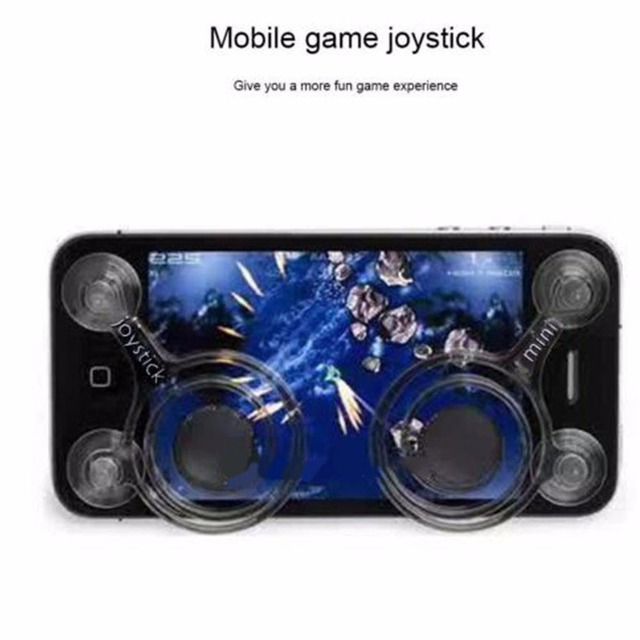 Ultra thin Dual Joystick Controller For Smartphone Arcade Games