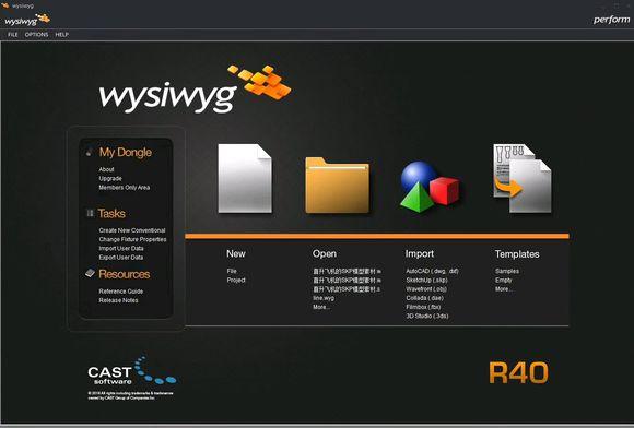 WYSIWYG Release 40 R40 preform Encrypted dog stage light