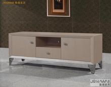 Гостиная мебель для дома ТВ стоит современный стиль для поверхности кожи и украшены небольшой устроило ТВ кабинета