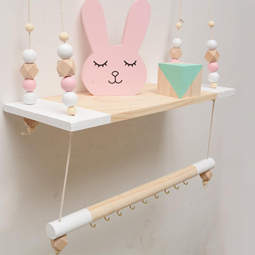 Nordic Modern Minimalist Display Wall Hanging Shelf Swing Rope Floating Shelves Home Decor Living Bedroom Hanging Wooden Storage Plaques Signs Aliexpress