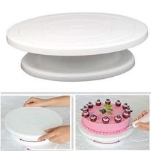 2019 Cake Base Decorating Tools Rotating Stand Sugar Craft Turntable Platform Cupcake Swivel Plate Revolving Baking