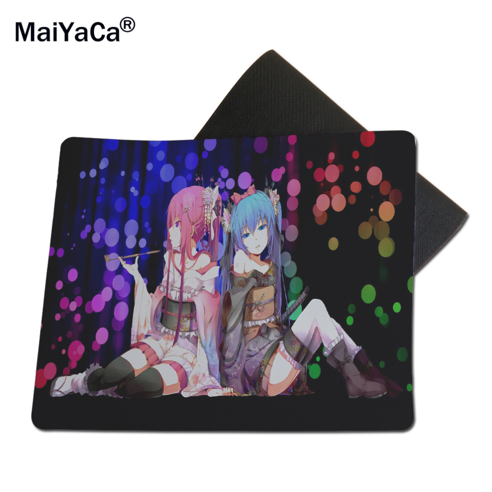 MaiYaCa Vocaloid Best Game Custom Mousepads Rubber Pads Computer 18*22cm and 25*29cm Lock and No Lock Mouse Pads