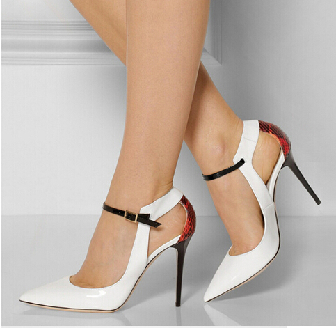 Shoes For Women New Fashion Sexy Stiletto Heel Pointed Toe Pumps