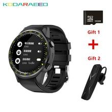 F1 relógio Do Esporte Cronômetro Bluetooth Smartwatch Relógio Inteligente GPS Suporte para Câmera Cartão SIM Relógio de Pulso para Android IOS Telefone + Fone de Ouvido + o Cartão Do TF