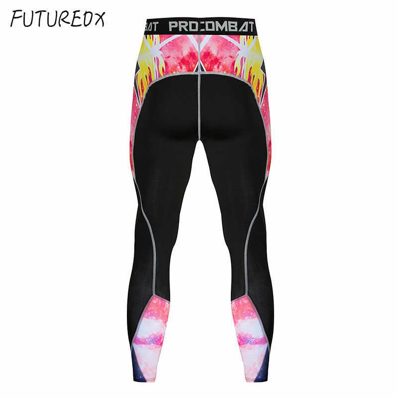 2018 новый для мужчин's спортивный костюм для фитнеса сжатия рубашка пот быстро сухой бег основной слои training Мужская одежда костюм Спортивная