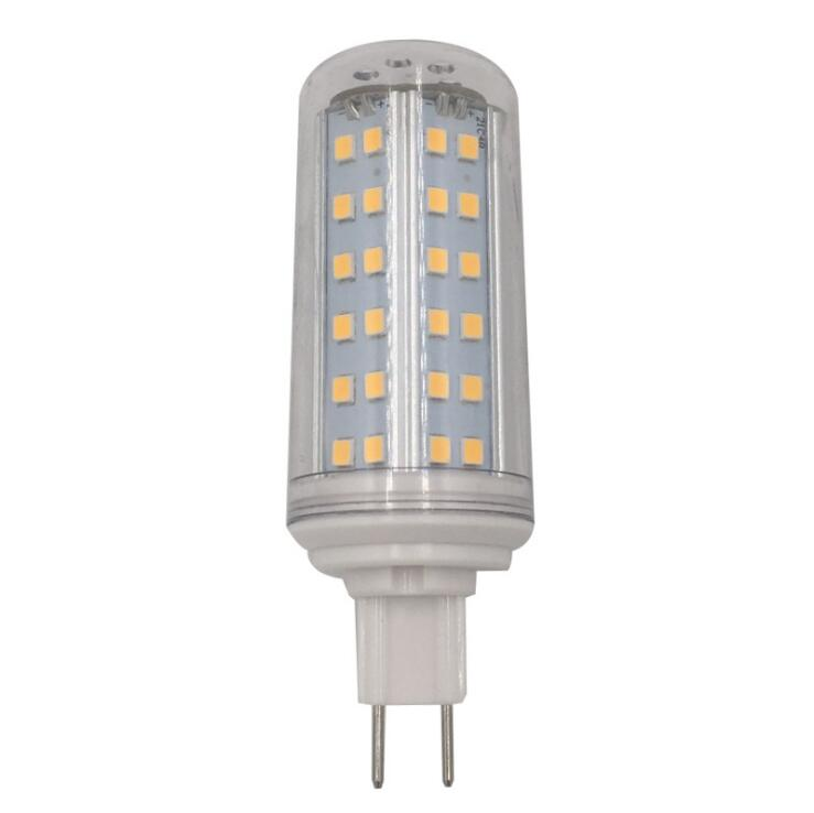 10pcs A Lot G8.5 Led Bulb Light 10w With Cover G8.5 Led Corn Bulb Lamp Replace Halogen Lamp AC85-265V