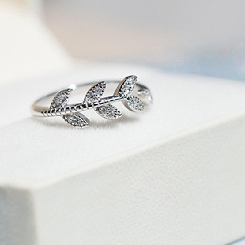 S925 Silver Open Ring Single Female Birthday Gift Girlfriend Gifts Open Ring S925 Silverring Ring Aliexpress