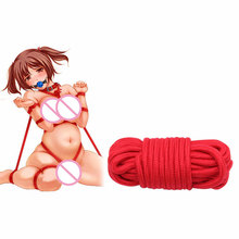5M Fetish Alternative Slave Bondage Rope Restraint Cotton Tied Rope Sex Toys For Couples Adult Game