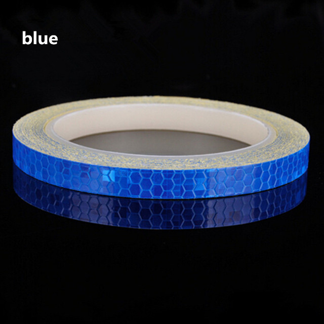 Reflective Tape Fluorescent MTB Bike Bicycle Cycling MTB Reflective Stickers Adhesive Tape Bike Stickers Bicycle Accessories 5