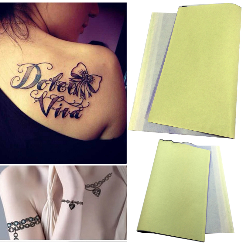 Tattoos outlines reviews online shopping tattoos for Tattoo transfer paper