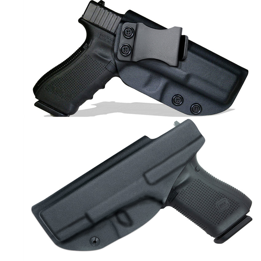 IWB Kydex Holster For Glock 17 19 22 23 25 26 27 28 31 32 33 43 43X Inside The Waistband Concealed Carry CCW Aiwb Appendix