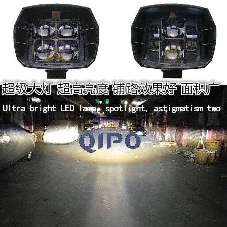 QIPO Super LED svjetlo SUV svjetlo 60W ultra svijetle pomoćno - Pribor i dijelovi za motocikle