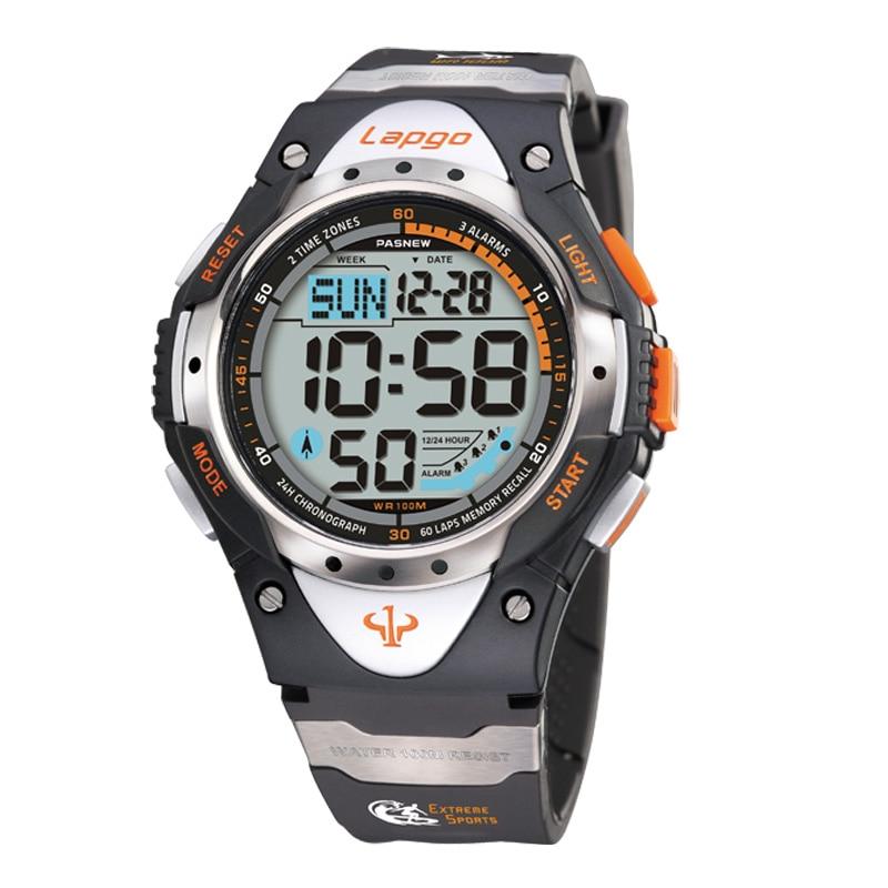Pasnew Watch Sport Digital Watches 100M Waterproof Dive Watches  Montre Digitale Homme
