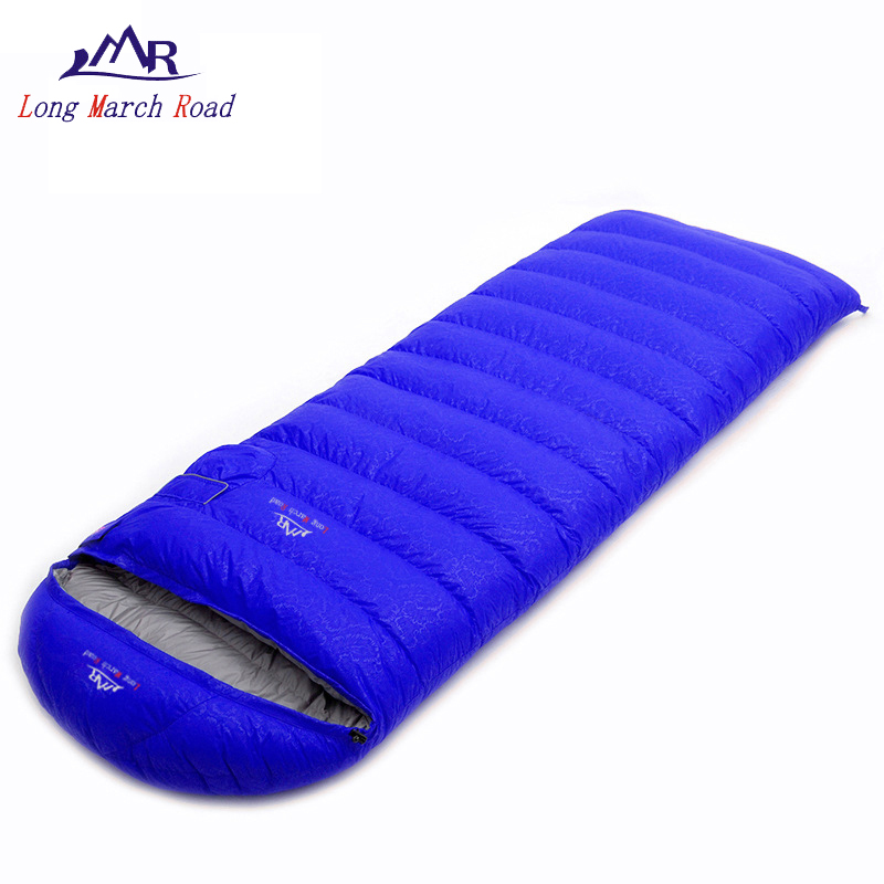 LMR sleeping bag duck down camping adult ultralight waterproof down 0 sleeping bags hiking envelope bag