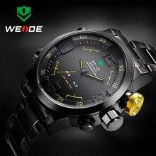 Top Luxury Brand Men Army Military Sports Watches Men's Quartz LED Display Clock