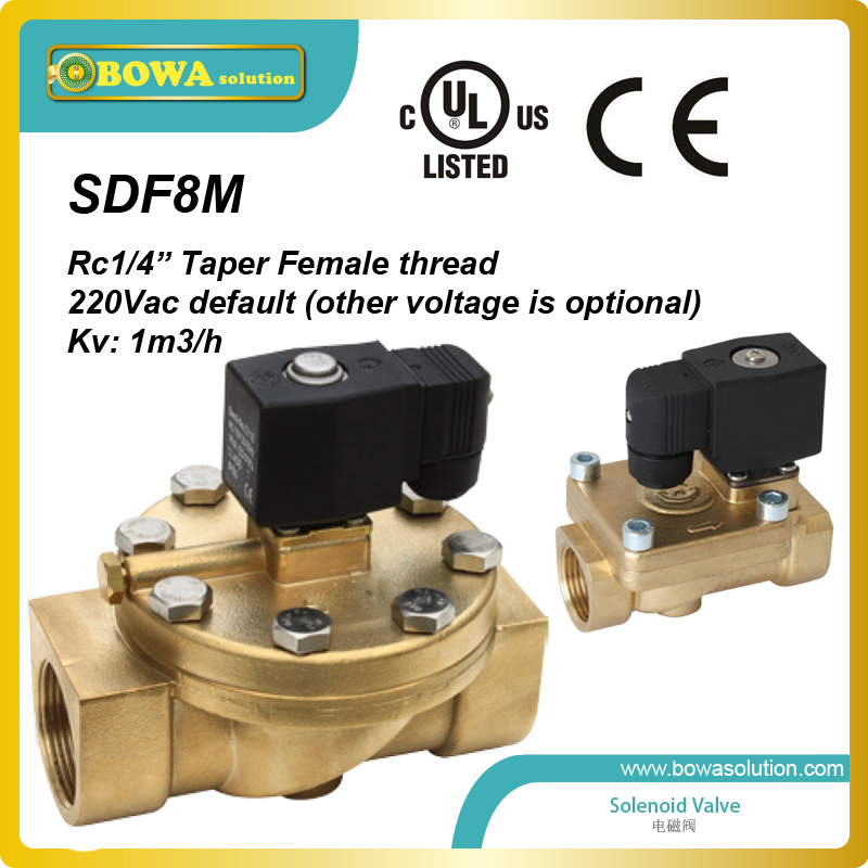 все цены на Excellent quality General Purpose 2-Way  Taper female thread Solenoid Valves with UL/cUL and CE approval онлайн