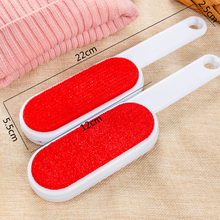 New 1pc Magic Lint Dust Brush Pet Hair Remover Clothing Cloth Dry Cleaning with Rotatable Static Brush Clothes