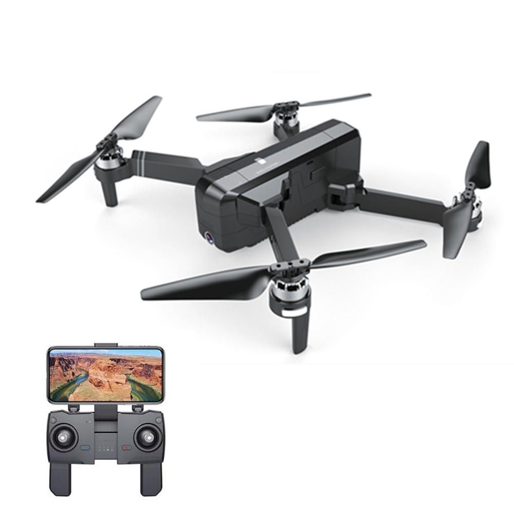 F11 GPS 5G Wifi FPV With 1080P Camera 25mins Flight Time Brushless Selfie Drone Quadcopter - Black One Battery 1080P rc airplane