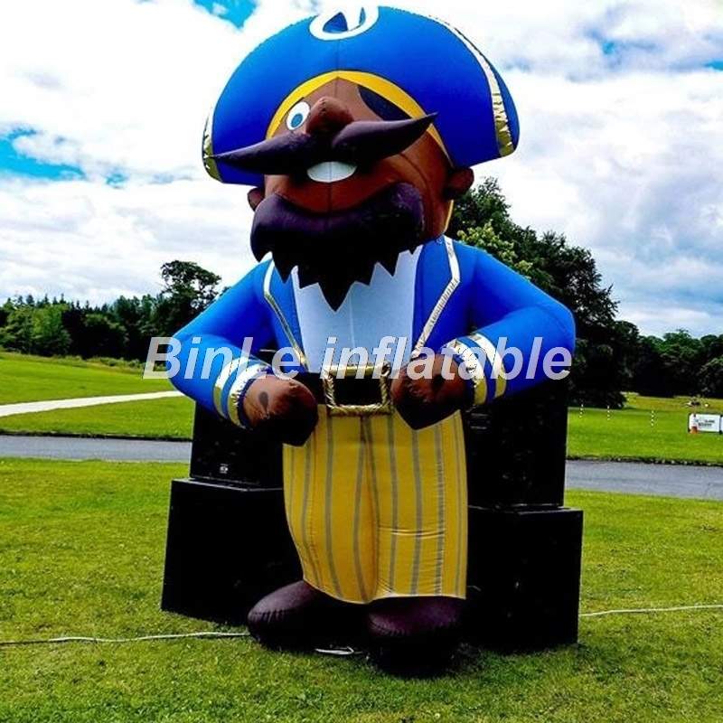 Promotion giant inflatable pirate cartoon inflatable pirate captain for AdvertisementPromotion giant inflatable pirate cartoon inflatable pirate captain for Advertisement