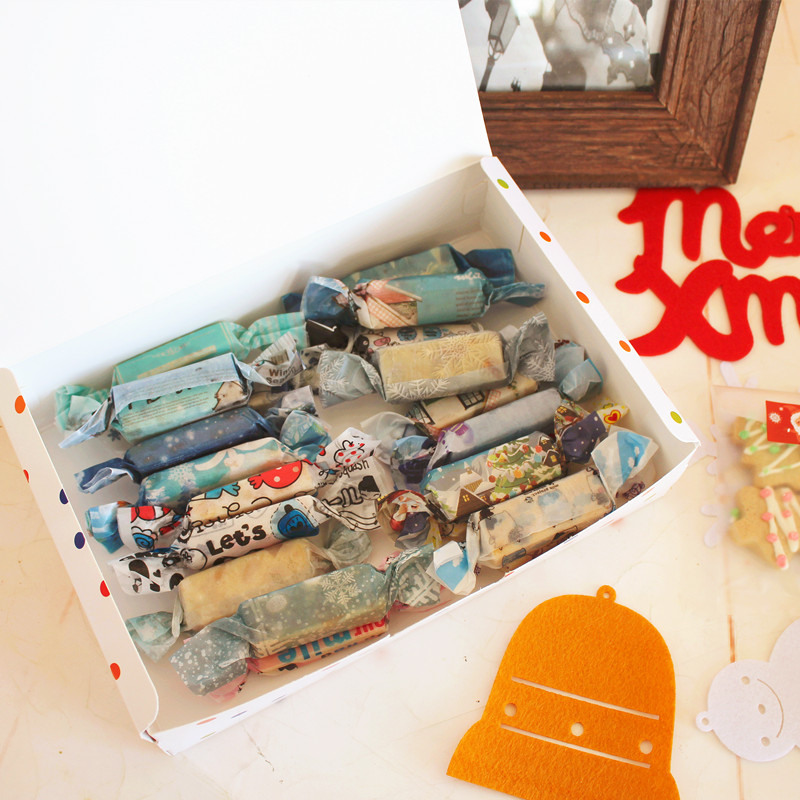 5 Teile/los DIY Handgemachte geschenk boxen 21x14x5 cm Papier ...