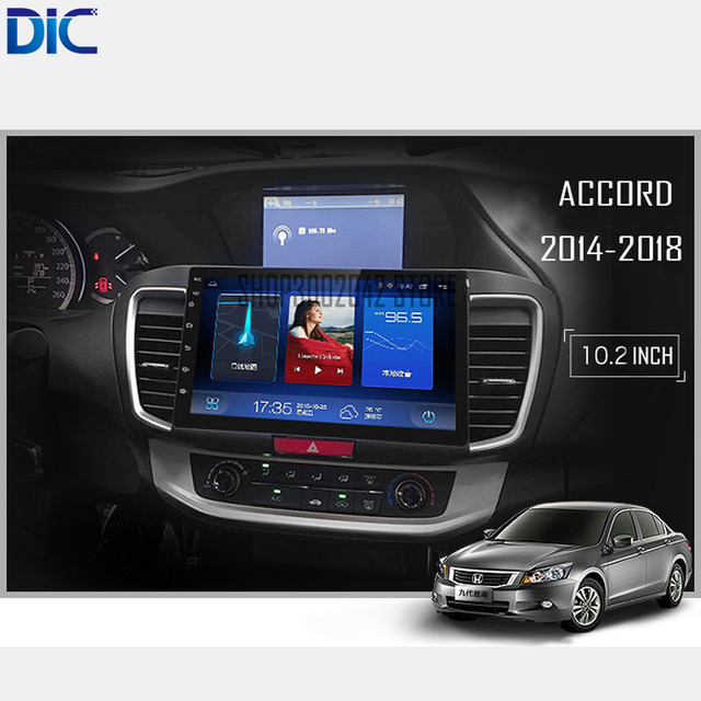 Dlc Android 6 0 Navigation Car Player Gps Mirror Link Bluetooth Styling Audio Steering Wheel For Honda Accord 9 2017