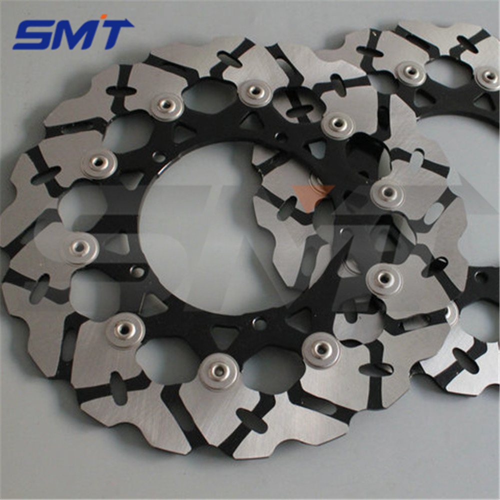 high quality motorcycle Accessories front brake disc rotor For YAMAHA YZF R1 2007 2008 2009 2010 2011 2012 2013 high quality 270mm oversize front mx brake disc rotor for yamaha yz125 yz250 yz250f yz450f motorbike front mx brake disc