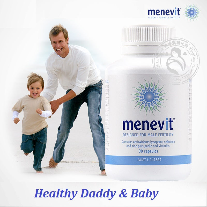 Australia Elevit Pregnancy Multivitamin for Men Menevit Male Fertility Supplements Support Sperm Babys healthy development-in Body Self Tanners & Bronzers from Beauty & Health
