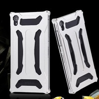 TX For Xperia Z2 Metal Aluminum Case Cover For Sony Xperia Z2 D6503 D6502 Front Back