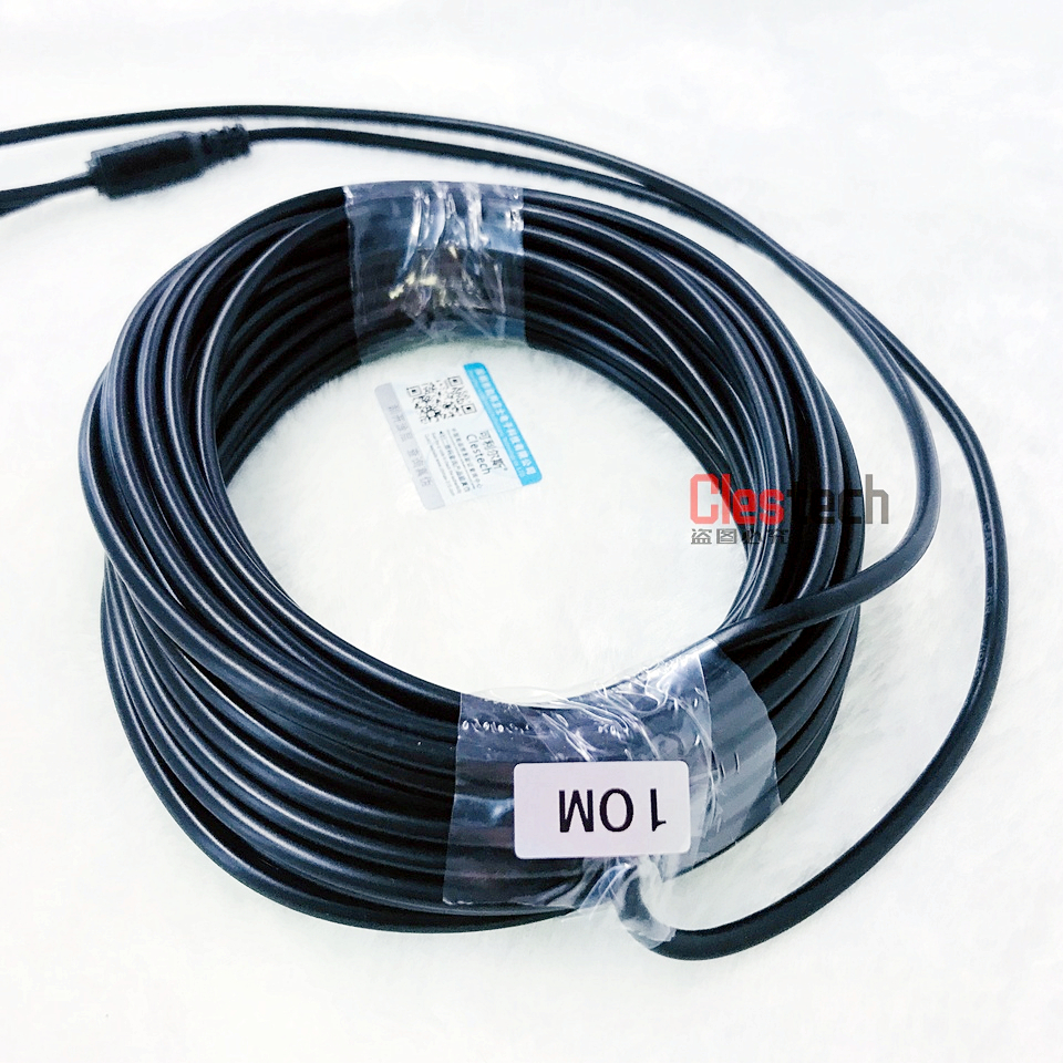 hight resolution of 10m wire 3 2ft video power cables security camera wires for cctv dvr home surveillance system with bnc dc connectors extension in transmission cables