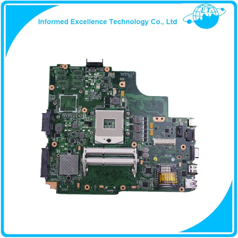 K43E laptop motherboard for ASUS CPU I3 well tested k well kwsr01 03