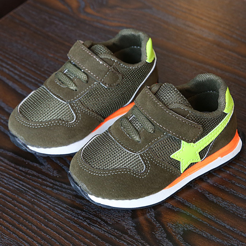 HABIBEAR Kids Mesh Sneakers Children Baby Boys Breathable Running Star Shoes Student Girls Casual Sports Shoes