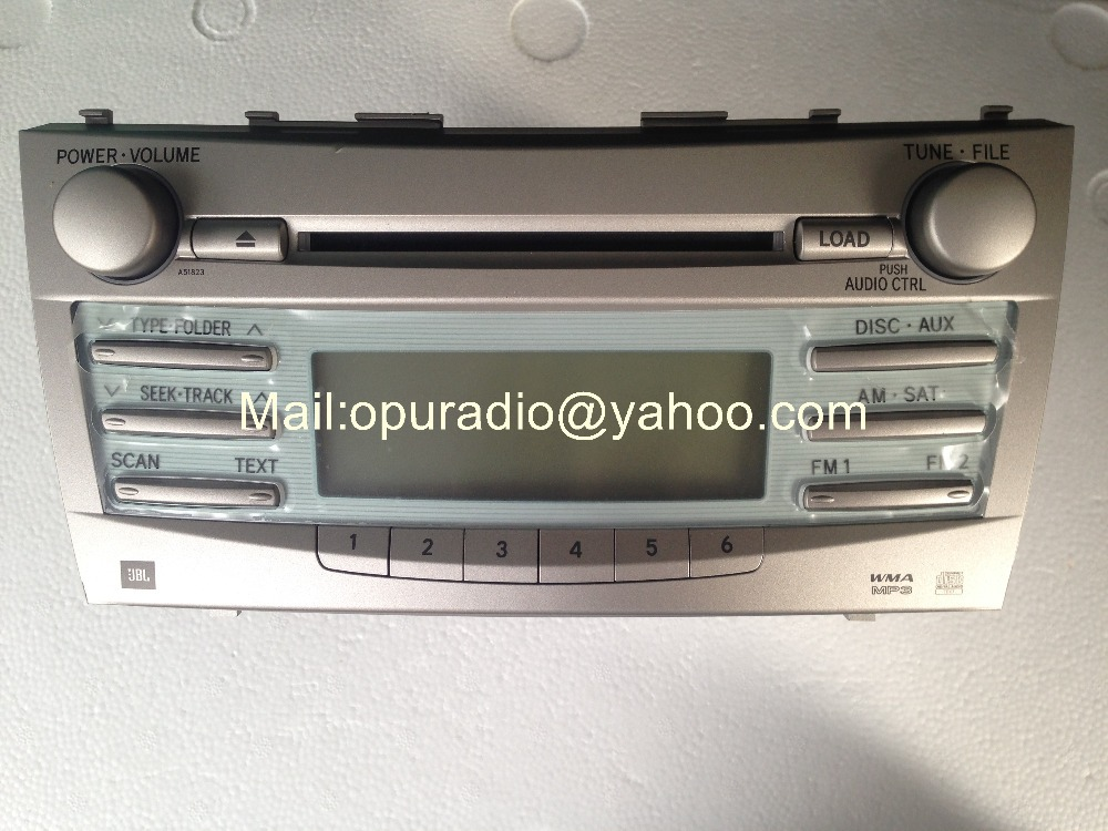 Toyotta 86120 06190 Cq Es8660x Matsushita 6 Cd Changer Mp3 Wma For Rhaliexpress: 2007 Toyota Camry Radio Cd Changer At Elf-jo.com