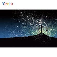 Yeele religion wallaper блестящее небо крест картина фотографии
